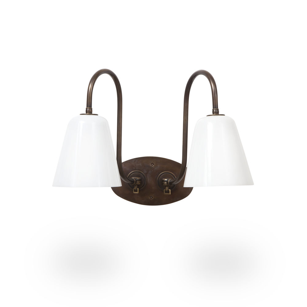 arm light with gooseneck shade bulb wall barn electric mini shown lighting angled lights sconces sconce navy eclipse