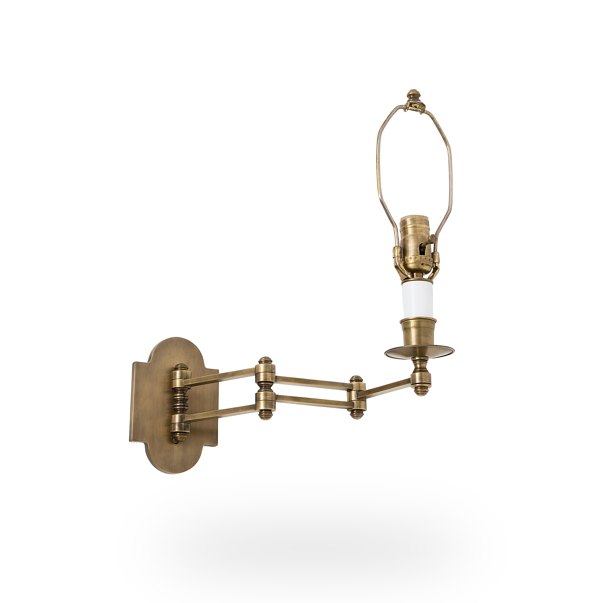 Regent Swing Arm Sconce Ann Morris