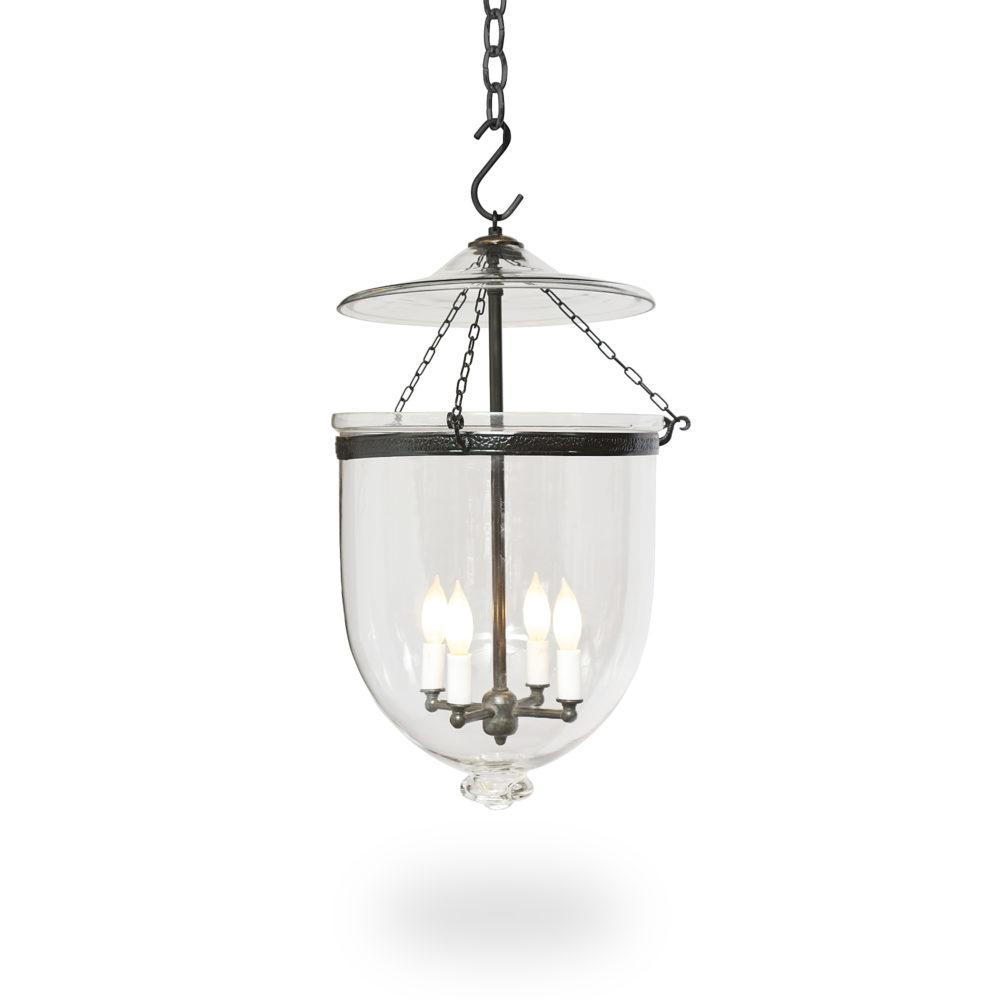 Medium Am Bell Jar Light Ann Morris Custom Lighting