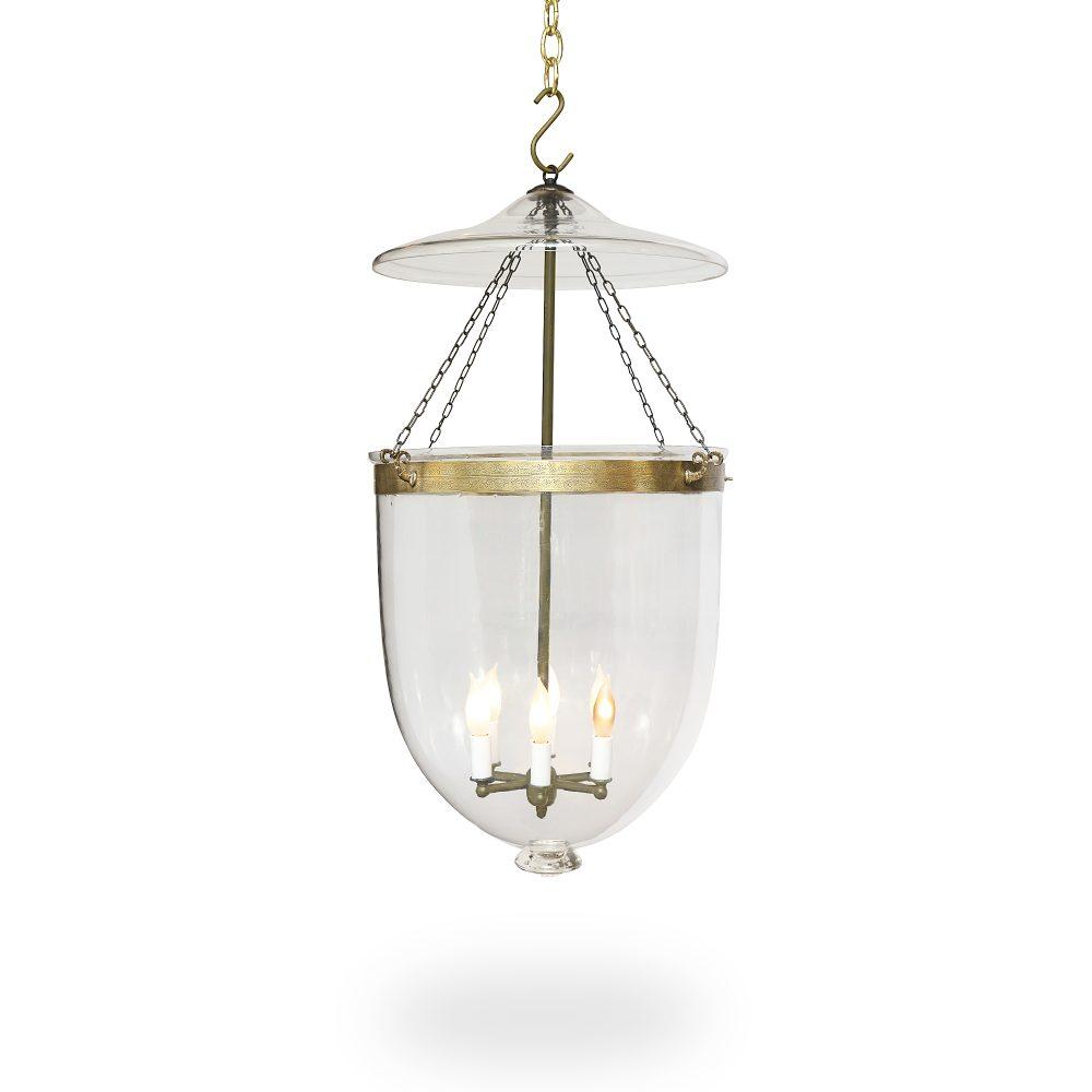 Large Am Bell Jar Light Ann Morris Custom Lighting